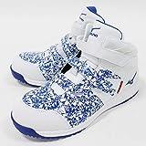 [ミズノ] 安全靴 作業靴 メンズ オールマイティBF23M Ltd F1GA1906 (27.0, 01:ホワイト×ブルー)