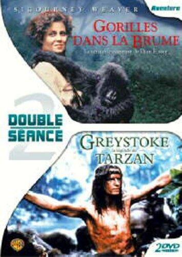 Gorilles dans la brume / Greystoke, la legende de Tarzan - Coffret 2 DVD