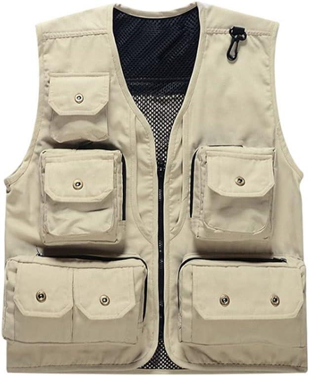 cheap Max 48% OFF Fishing Vests for Men Vest Quick Dry Men's Fishi Outdoor