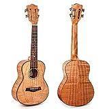 Kmise, chitarra ukulele classica da 23 pollici, chitarra ukulele hawaiana, con solida tavo...