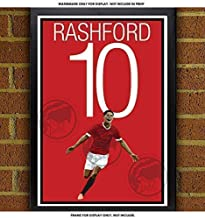 Marcus Rashford Poster - Manchester United Art