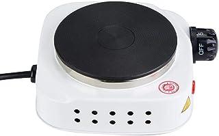 Plaque chauffante, mini-poêle électrique portable 500W Réchauffeur multifonctionnel pour plaque de cuisson pour soupe et b...