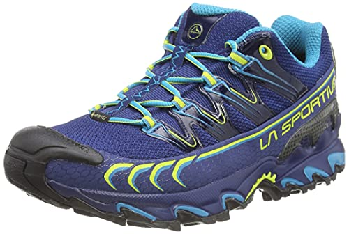La Sportiva Ultra Raptor GTX, Zapatillas de Trail Running Hombre, Multicolor (Indigo/Apple Green 000), 44 EU