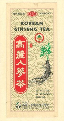秋山産業『高麗人蔘茶』