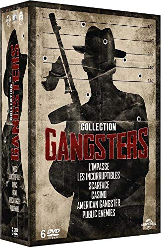 Collection Gangsters : Public Ennemies + Les incorruptibles + Scarface + American Gangster + L'impasse + Casino
