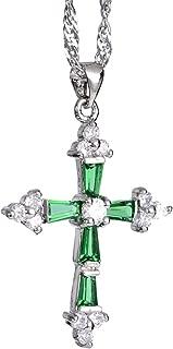Cross Pendant with 18