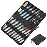 Juego de lápices de colores de accesorios de papelería inofensivos duraderos, juego de lápices de dibujo, lápiz de colores profesional para estudiantes y profesores
