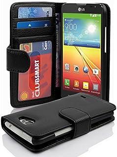 a9fc91724dc Cadorabo Carcasa para LG L70 Funda en tarjeta de teléfono móvil con 3  compartimentos Case Cover