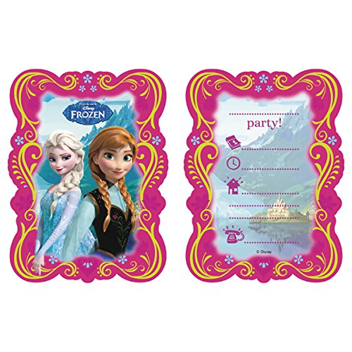 Disney'S 'Frozen' Party Invitations & Envelopes - Pk6 Frozen