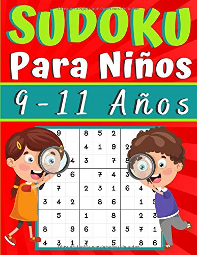 Sudoku para Niños 9-11 Anos: juegos para jugar en familia, 200 cuadrículas...