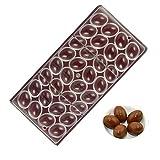 Lembeauty 32-in-1DIY Moule à chocolat Forme d'œuf en plastique transparent gâteau Candy Moule à chocolat