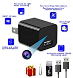 Mini spy camera 1080P charger hidden camera, portable plug-and-play camera, high-definition plug without