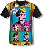 I Love Lucy - Lol camiseta de los hombres de, XXX-Large, White