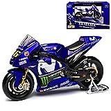 Yamaha YZR-M1 GP18 MotoGP Nr 46 2018 Valentino Rossi 1/18 Maisto Modell Motorrad -