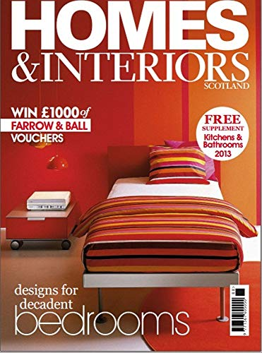 HOMES AND INTERIORS: DESIGNS FOR DECADENT (English Edition)