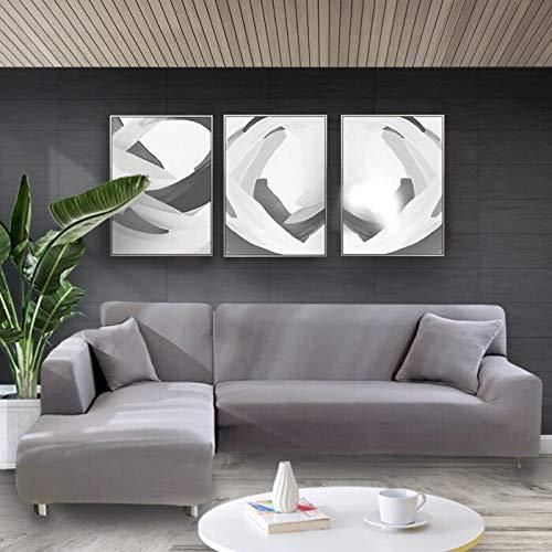 Funda de sofá elástica Estirar el Abrigo Apretado Fundas de sofá Todo Incluido para Sala de Estar Funda de sofá Silla Funda de sofá A25 4 plazas