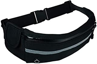Running Belt Pouch with Water Bottle Carrier for Sports Walking Hiking Workout Runner