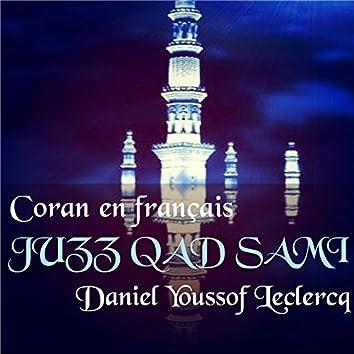 JUZZ QAD SAMI (Coran en français)