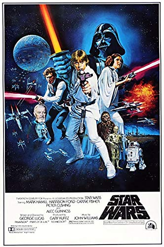 Póster de Star Wars Episodio IV (68,5 x 101,5 cm)