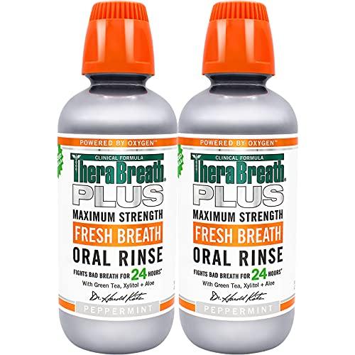 TheraBreath Plus Fresh Breath Dentist Formulated Maximum Strength...