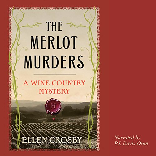 The Merlot Murders audiobook cover art