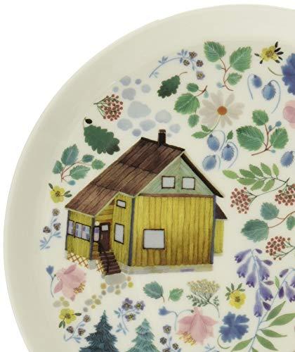NARUMI(ナルミ) プレート 皿 アンナ・エミリア Summer 径19cm 電子レンジ温め 食洗機対応 52191-5644P