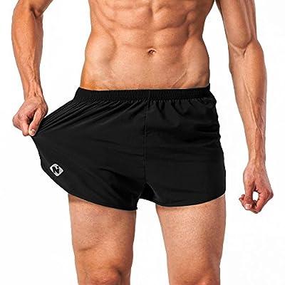 NAVISKIN Men's Lightweight Quick Dry Running Shorts Training Pace Shorts