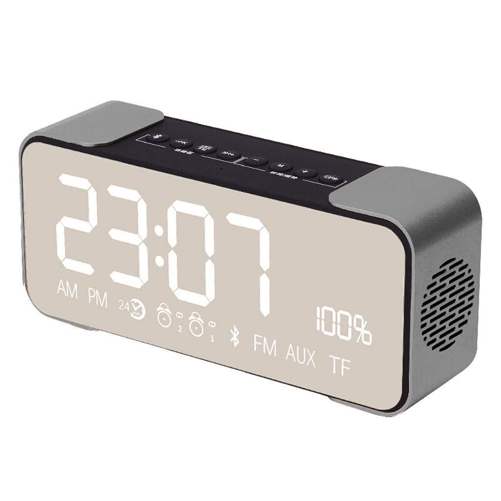 liuxi Despertador Digital con Proyector LED Altavoz Bluetooth ...
