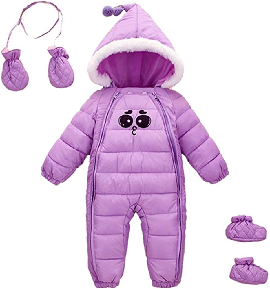Ohrwurm Sale Baby Winter One Piece Snowsuit Zipped Hood Gloves T with New mail order