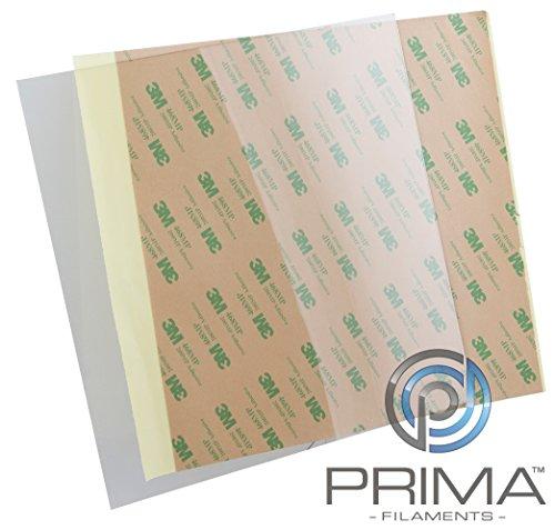 """PrimaCrator PF-PEIU-165x254-05 PEI Ultem - Hoja, 500x500mm (19.7\""""x19.7\"""") - 0,5mm, 1"""