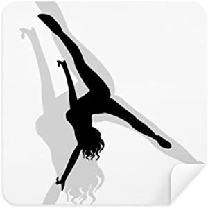 DIYthinker Hot Woman Handstand Dance Glasses Cleaning Cloth Phone Scre...