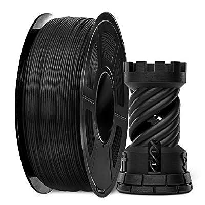 3D Printer Filament, PLA Plus Filament 1.75mm, 3D Printer Filament PLA+, 1KG White