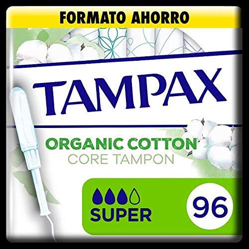 Tampax Cotton Protection Super mit Applikator aus Bio-Baumwolle, 96 Stück, 1000 g