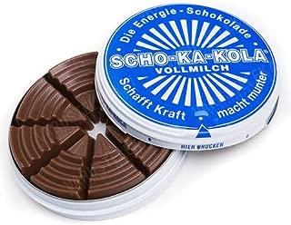 Scho-ka-kola Schokakola energy chocolate -MILK -100 g - 1 can