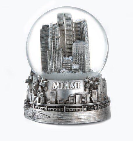 Zizo Miami Florida Fees free!! Silver 65mm Surprise price Globe Snow