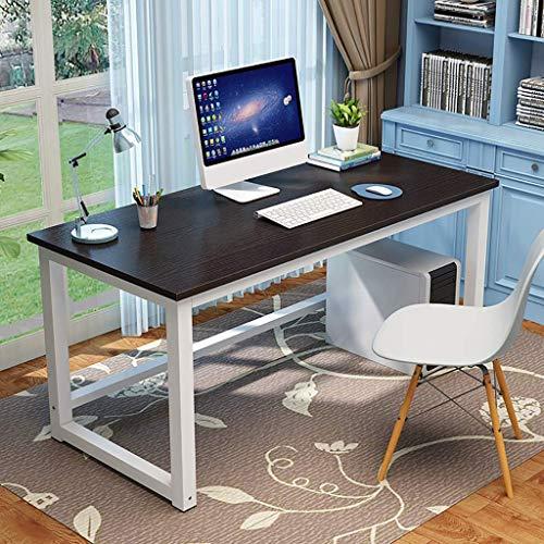 DYB Computertisch Computertisch Büro Studiertisch, Computer PC Notebook Computertisch, Workstation Esstisch Spieltisch, Computerarbeitsplätze (Farbe: B, Größe: 100x70x74cm)