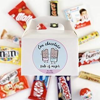 """Caja Regalo Chocolatinas """"Choco"""