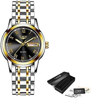 JINN-Women's Watches - Top Fashion Women Watch Luxury Stainless Steel Quartz Watch Ladies Business Watch Japanese Quartz M...
