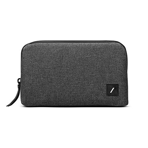 Native Union Stow Lite Organizer – Minimalist Travel Pouch for Everyday Accessory Storage & Protection – Stores Cables, Chargers & More(Slate)