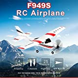 Baoer Wltoys Updated F949S 3CH 2.4G Cessna-182 EPP RC Glider Airplane RTF Miniature Model Plane Outdoor Toy Built-in Gyroscope Default