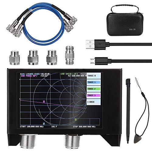 Iriisy Analizador de Red Vectorial, Analizador de Antena, Nanovna SAA-2N V2.2, 50KHz-3GHz...