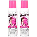 Jerome Russell B Wild Temporary Hair Color Spray 3.5oz (Set of 2, Lynx Pink)