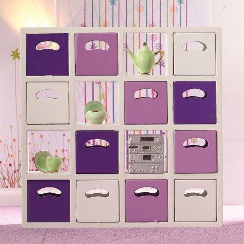 Dolls House 4933 étagères 16 sujets blancs 1:12 pour maison de poupée