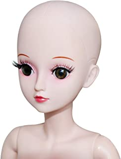 28d7f61544 UCanaan 1/3 BJD Doll Nude Body 19 Ball Jointed Model Reborn Dolls for Girls