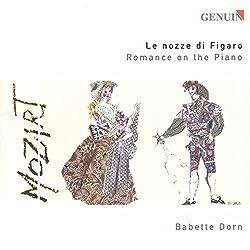 Mozart : Les noces de Figaro - Romance au piano. Dorn.
