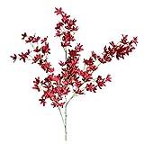 XNBZW Fleurs Artificielles Fausse Fleur Roses Orchidée en Soie Bouquet Mariage pour fête de Jardin à la Maison Décor Fleur Plastique W