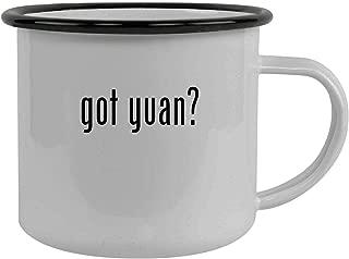 got yuan? - Stainless Steel 12oz Camping Mug, Black