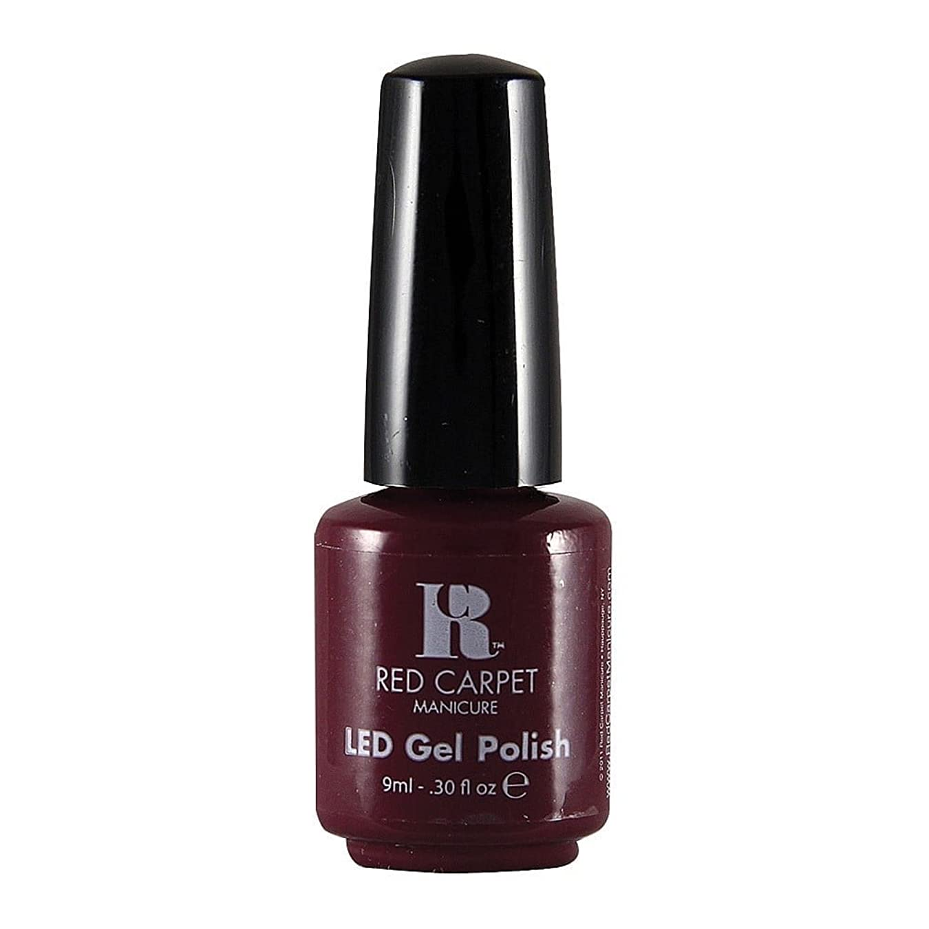 メダリストフィヨルド含むRed Carpet Manicure - LED Nail Gel Polish - Plum Up the Volume - 0.3oz / 9ml