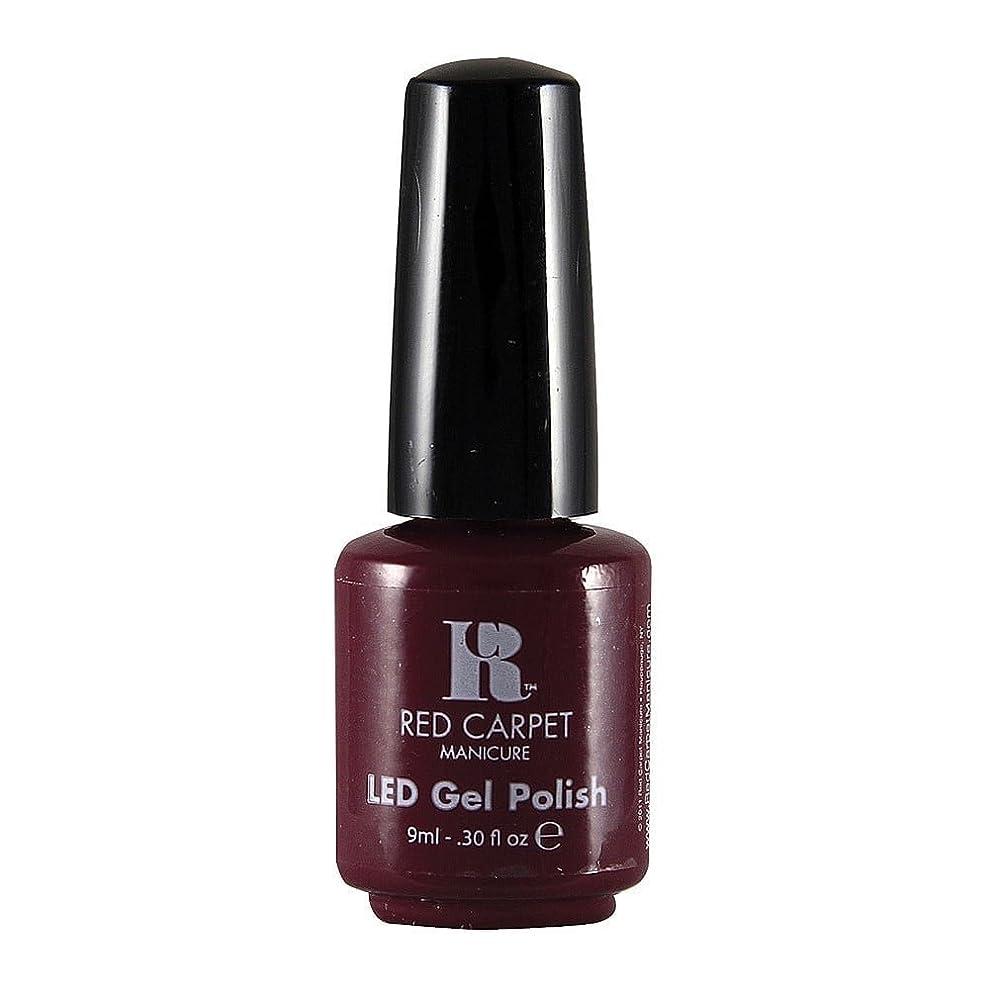 雲パイプライン演じるRed Carpet Manicure - LED Nail Gel Polish - Plum Up the Volume - 0.3oz / 9ml