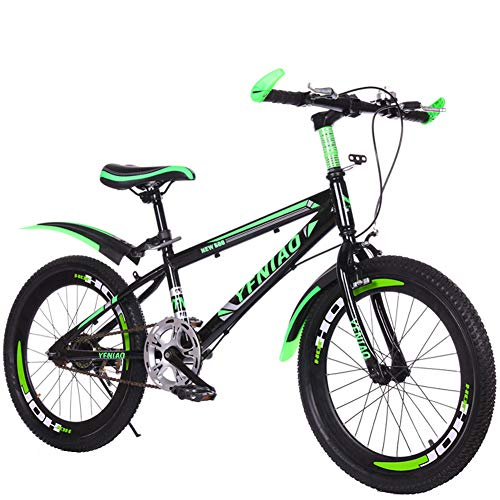 Kinderfiets mountainbike student auto 18-22 inch single speed shift schijfrem gift auto mannen en vrouwen